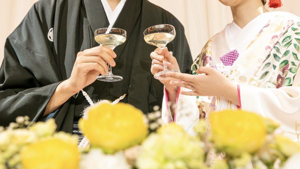 結婚式でオススメの小振袖